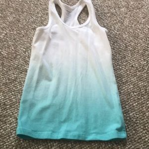 Old navy fitted tank size 6-7